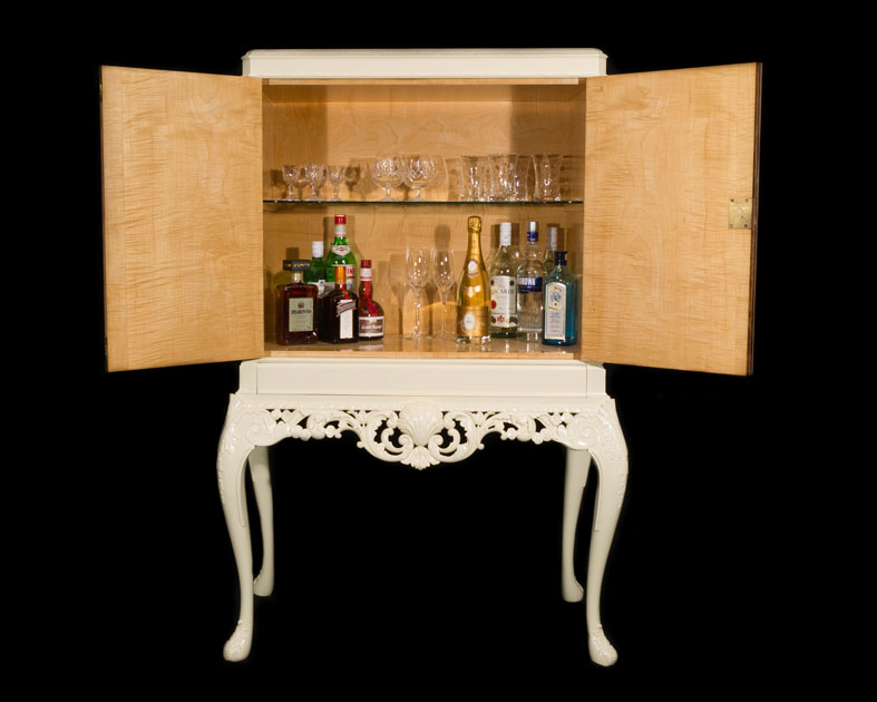 Jack & Marilyn 1920's Cocktail Cabinet