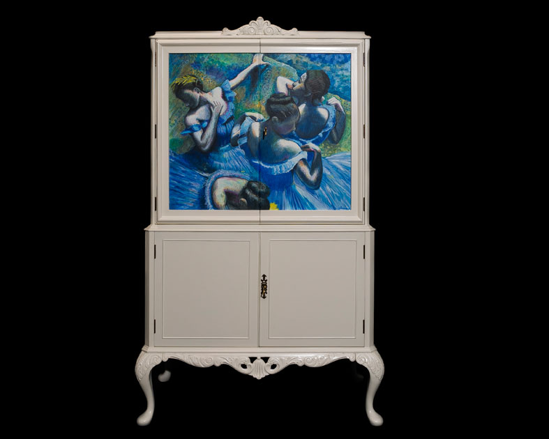 Degas Dancers Cocktail Cabinet