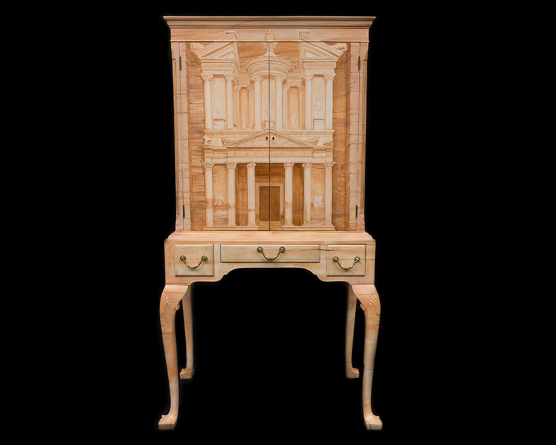 Petra 1920's Cocktail Cabinet